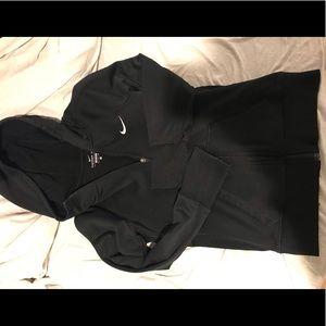 Black thermal Nike jacket!